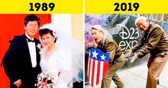 """Se jubilaron y comenzaron a hacer """"cosplays"""", demostrando que nunca es tarde para disfrutar de la vida"""