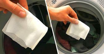 Por qué colocar una toallita húmeda en la lavadora puede ahorrarte mucho tiempo y nervios