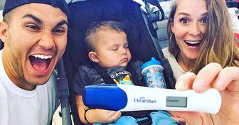 15 Famosas que compartieron en redes la felicidad que produce la llegada de un nuevo hermanito