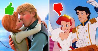 Le pedimos a una psicóloga que analizara a 12 parejas de películas animadas y averiguamos si vivirán felices para siempre