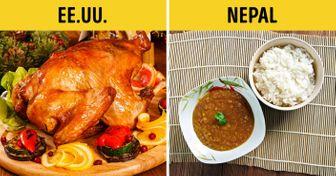 Qué platillos suelen preparar para Navidad yAño Nuevo endiferentes países del mundo