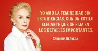 8Objetos que Carolina Herrera terecomienda tener entuguardarropa