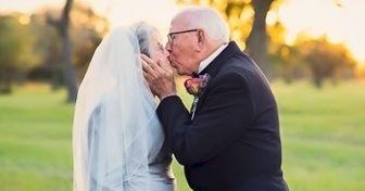 Esta pareja esperó 70años para hacer esta sesión fotográfica