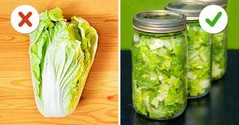 10 Trucos que mantendrán tus alimentos frescos durante mucho tiempo