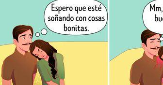 """17 Maneras ilustradas de expresar un """"te quiero"""" sin palabras"""