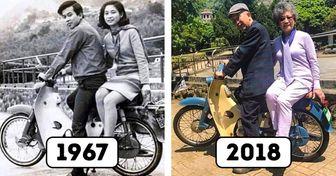 22 Parejas que prueban que el tiempo se lleva todo menos el amor