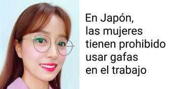 Mujeres japonesas se manifestaron en contra de las exigencias de vestuario de las empresas haciendo lo que se les prohíbe hacer