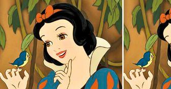 Cómo se verían 17 personajes animados sin una gota de maquillaje