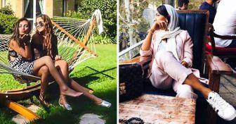 21Fotos que muestran cómo vive laélite iraní