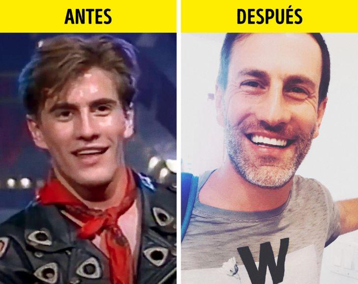 El antes y el después de los integrantes de Mercurio y Magneto