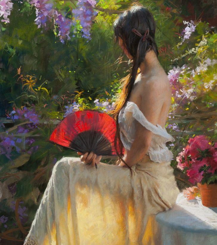 15 Obras románticas de un pintor español que sabe retratar la intimidad