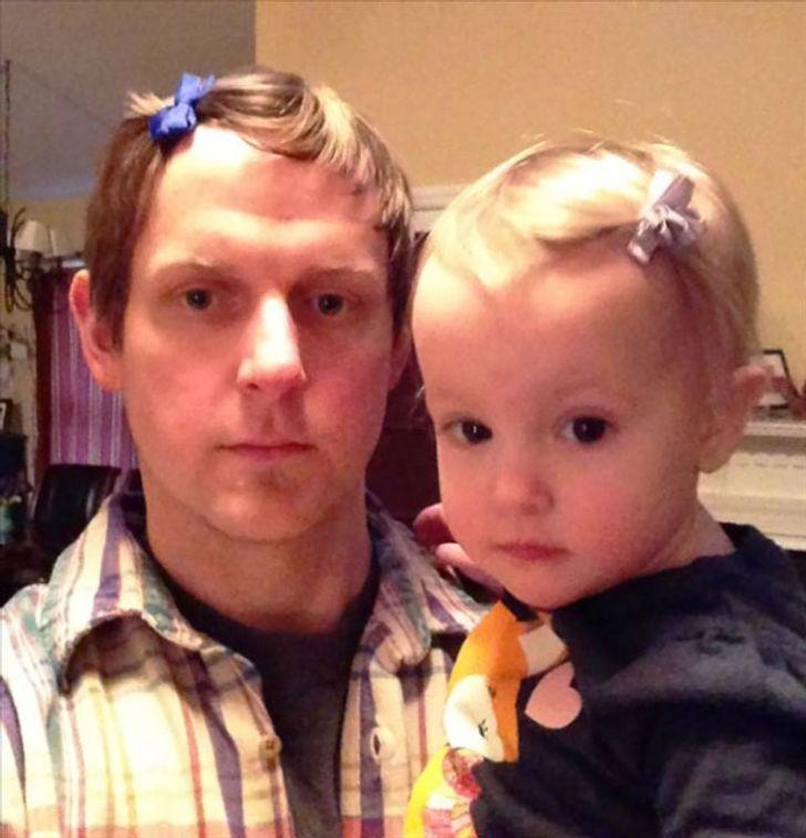 Tengo una hijita, por eso siempre estoy despampanante