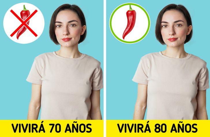 Qué le sucede a tu cuerpo cuando comes alimentos picantes