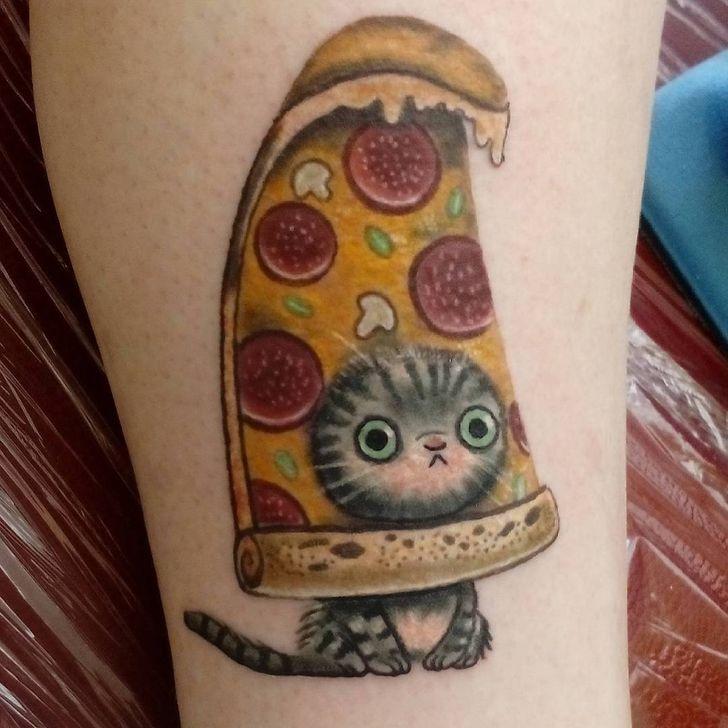 25 Tatuajes de gatos lindos y graciosos en los que te puedes inspirar