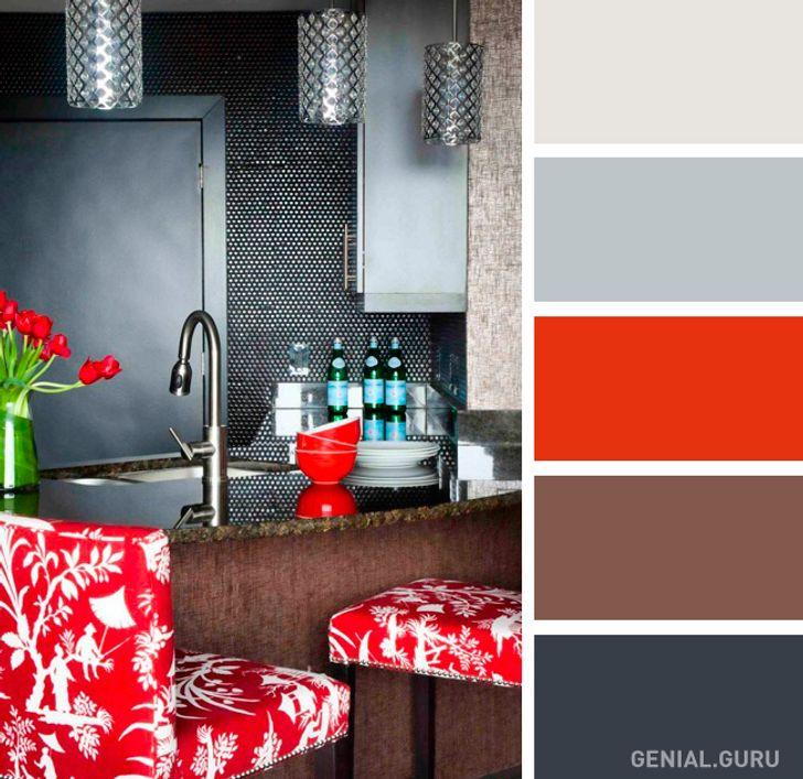 17 Perfectas Combinaciones De Colores Para Tu Cocina