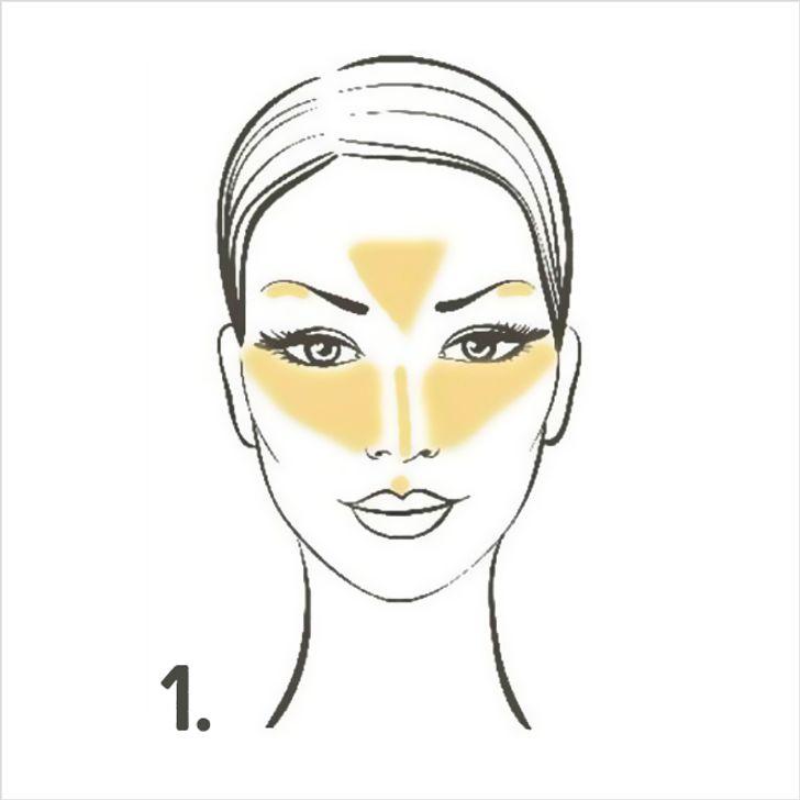 5Pasos para delinear turostro con maquillaje