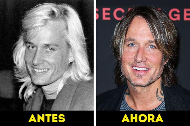 Cómo han cambiado estos 20 famosos a lo largo de las décadas