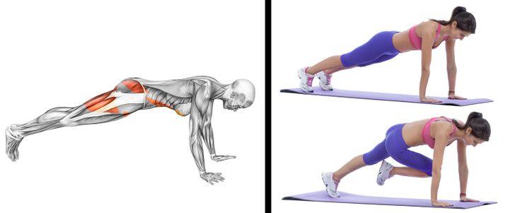 Cómo moldear tu cuerpo en casa con un entrenamiento de tan solo 20 minutos