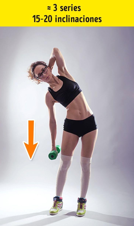 7 Ejercicios Eficientes Para Reducir Las Llantitas En La Espalda Y La Cintura