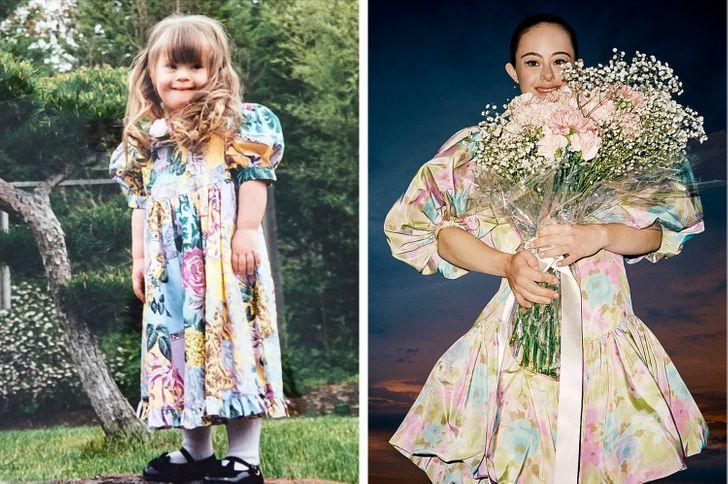 Una modelo con síndrome de Down demuestra que eres el único que puede definir la belleza por ti mismo