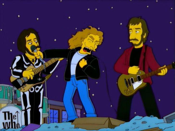 10 mejores cameos de bandas de rock y metal en Los Simpson