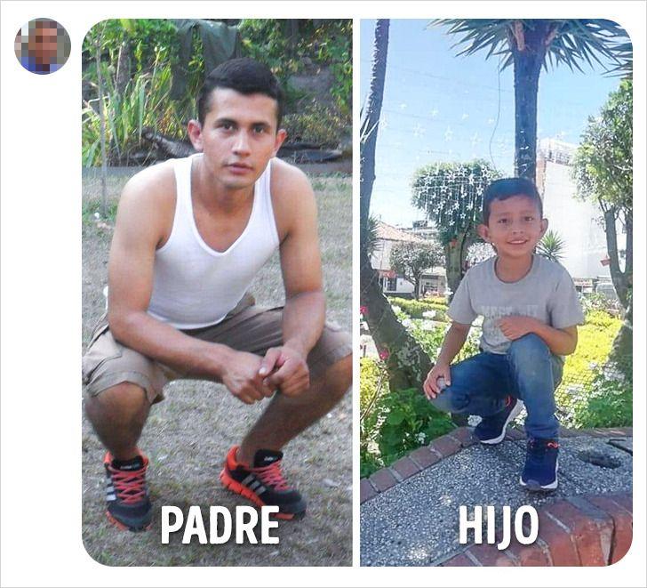20 Fotos familiares de los lectores de Genial, que muestran lo poderosa que es la genética