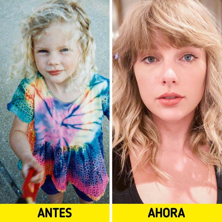 Mira cómo han cambiado estos famosos desde que eran niños hasta hoy