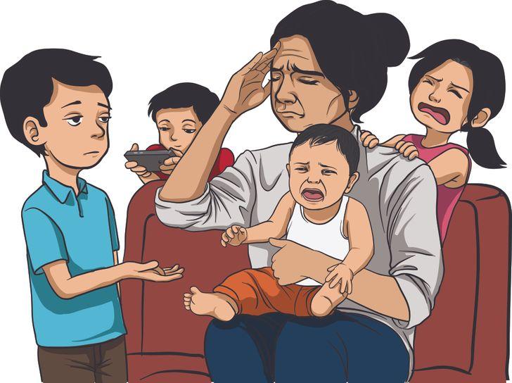 Los padres que no permiten a sus hijos pequeños ayudar en casa suelen tener más problemas con la adolescencia