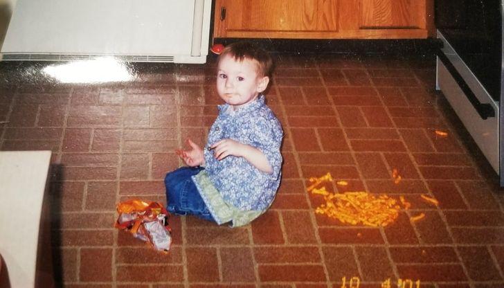 19 Usuarios de la red mostraron lo que puede pasar cuando los niños permanecen demasiado tiempo en casa