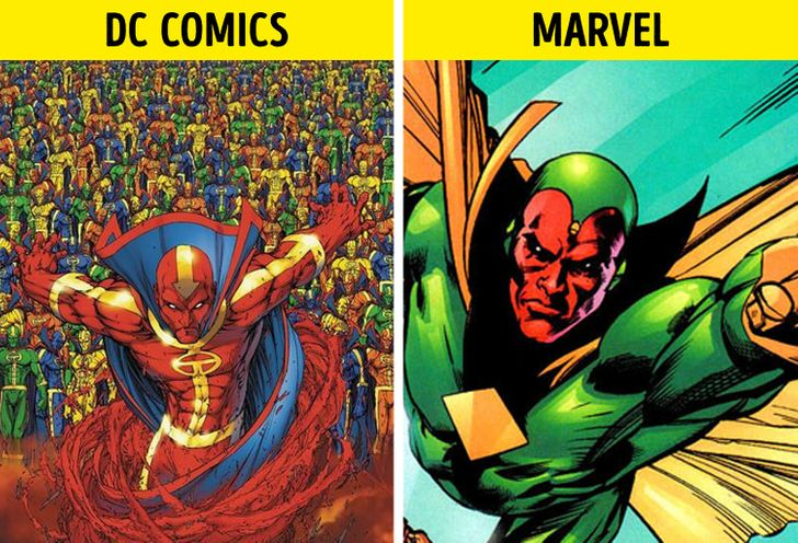 15 Personajes de cómics que son muy similares entre sí (y cuál apareció primero)