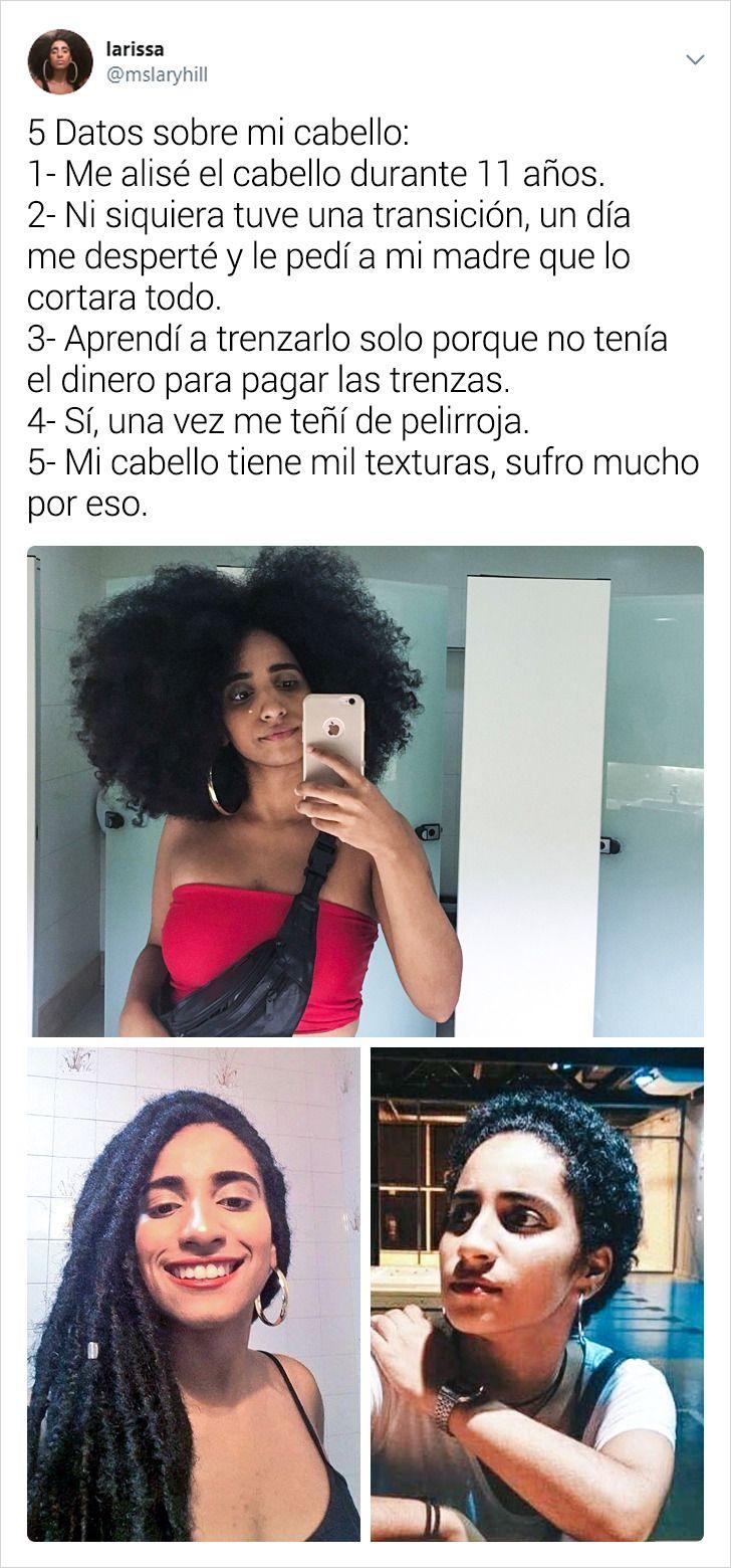 20 Mujeres comparten 5 datos sobre su cabello y sobre sí mismas (una lección de autoestima)