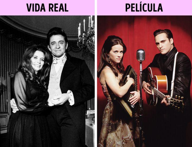 Johnny Cash y June Carter, la verdadera historia de un amor lleno de pasión y locura