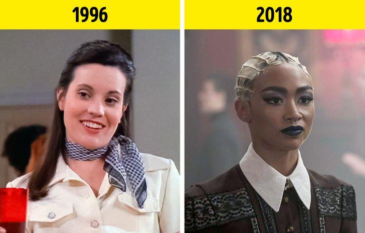 Comparamos a los actores de Sabrina con los de la versión original de 1996