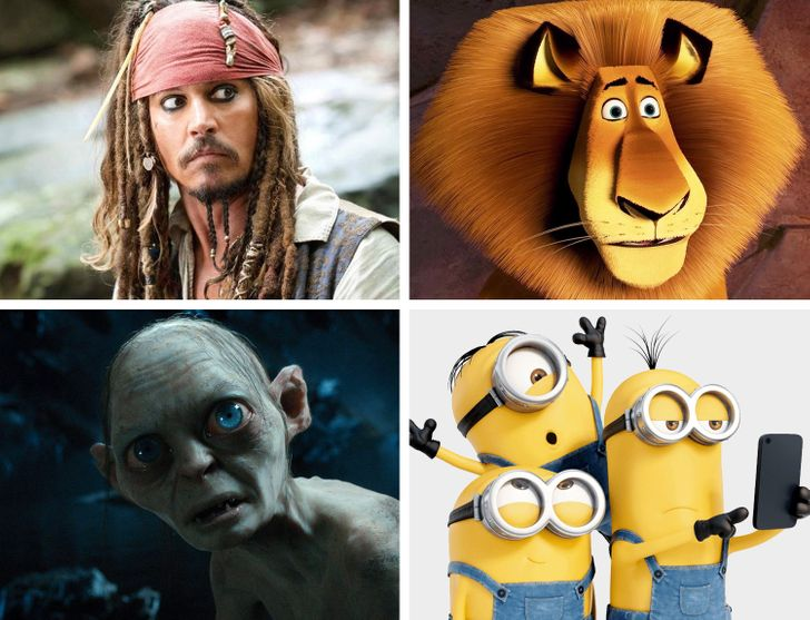 Varios personajes tienen la misma voz en español latino, pero es casi imposible notarlo