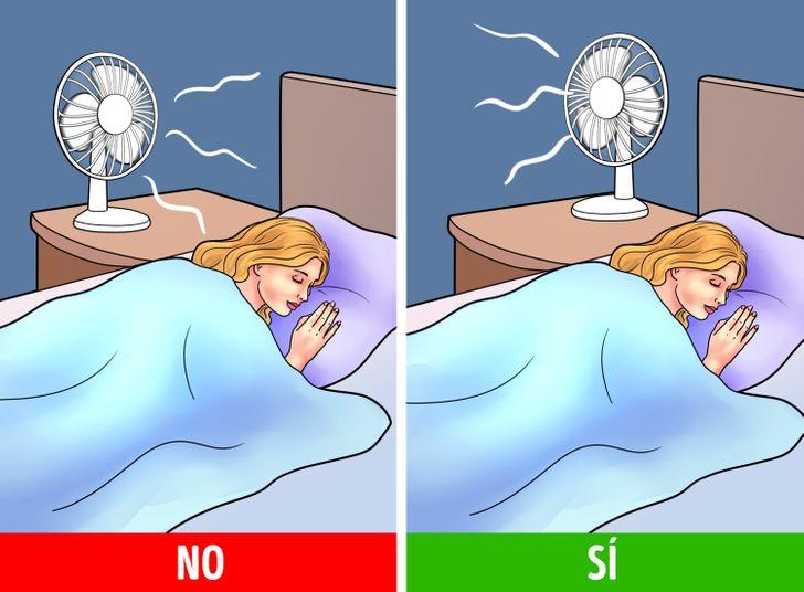 Por qué dormir con un ventilador encendido es malo para ti