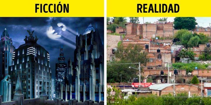 Ciudad Gótica existe en la vida real y se encuentra dentro de México