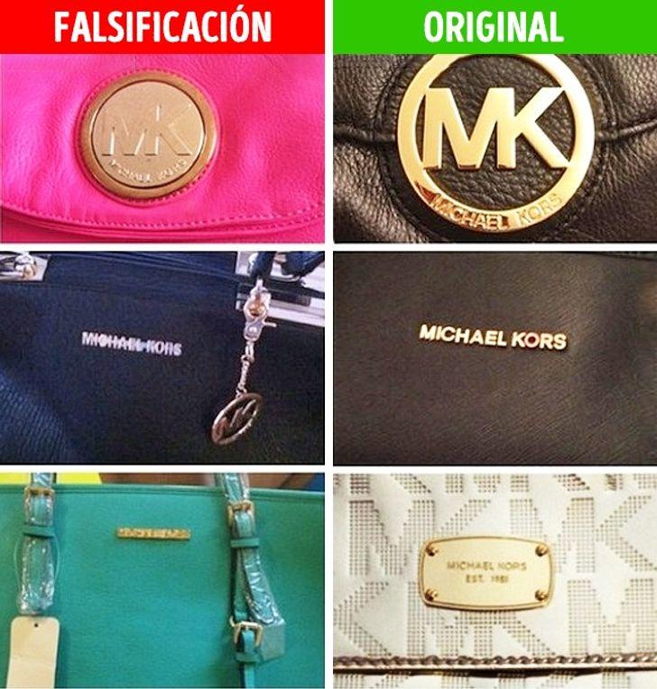 Interacción gas Evacuación  Presta atención a estos detalles y nunca comprarás una copia falsa de estas  famosas marcas