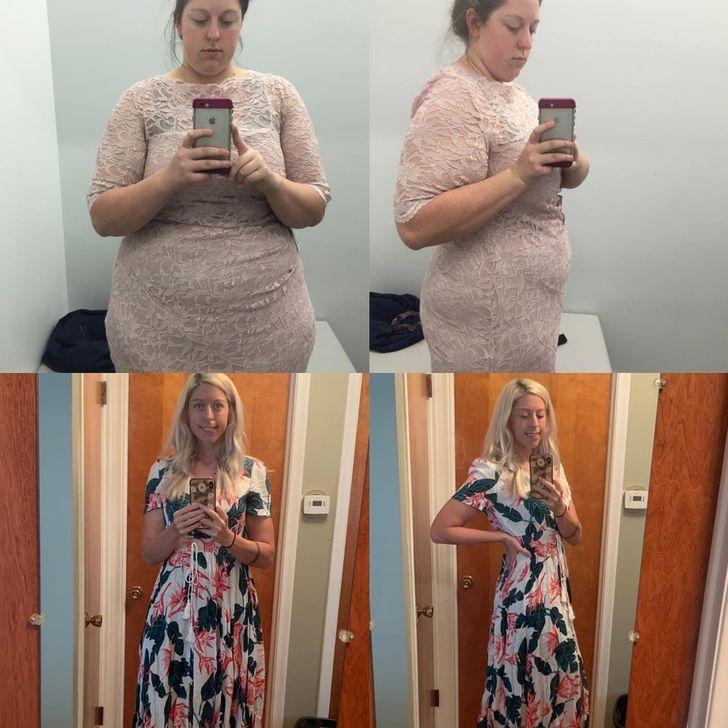 """19 Personas que perdieron peso y ganaron unas """"alas"""" de felicidad en su lugar"""