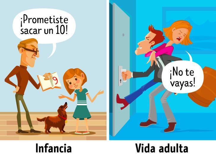 8Errores parentales que marcan depor vida alos hijos