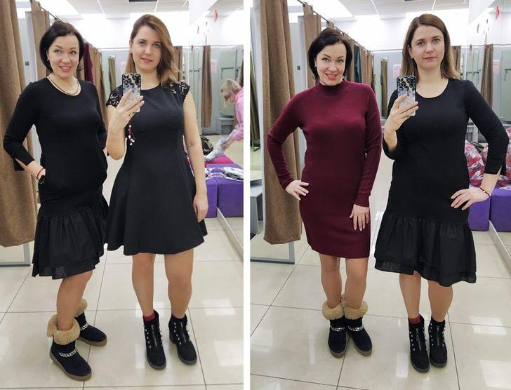 Comprobamos cómo la misma prenda puede hacer a tu amiga hermosa y a ti, un monstruo