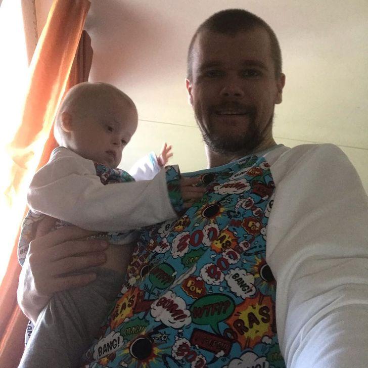 Un hombre ruso cría a su hijo con síndrome de Down por su cuenta y demuestra que el amor paternal es sagrado