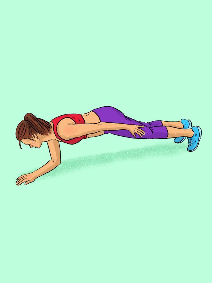 12 Tipos de ejercicios de plancha que trabajan todos los grupos musculares (Adiós al gimnasio)