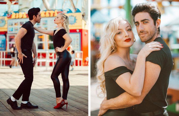"""Una pareja recrea los """"looks"""" de películas exitosas y sus fotos parecen de otro mundo"""