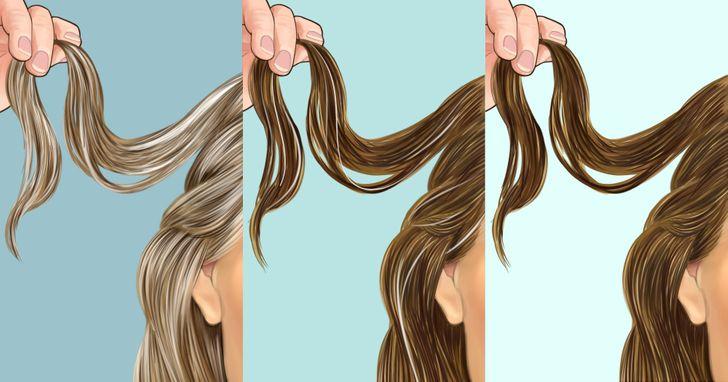 Las canas pueden ser reversibles, y hay varias formas de devolverle el color al cabello