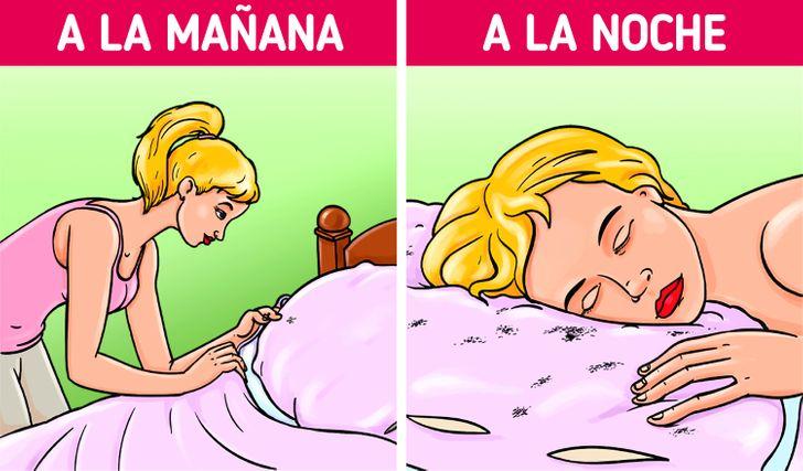 Por qué es malo hacer la cama justo después de despertar