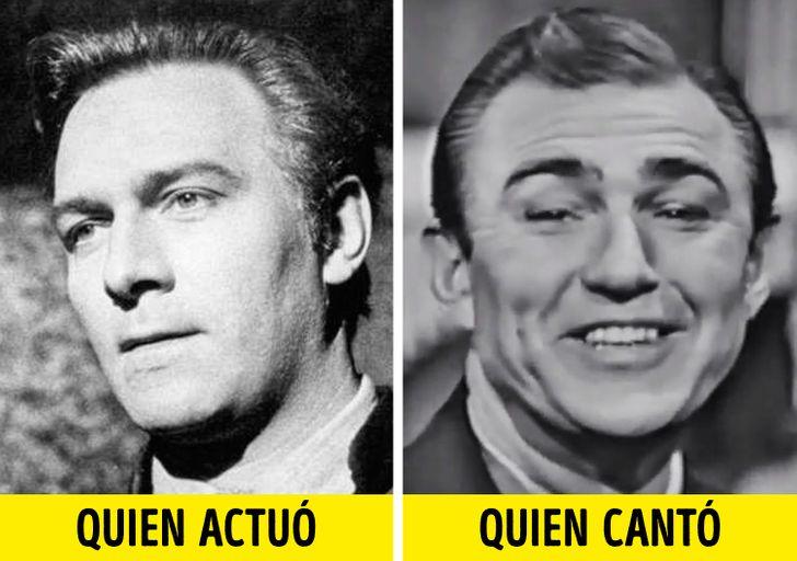 17 Actores que aparecieron cantando en una película, pero no usaron sus propias voces (y quienes cantaron realmente)