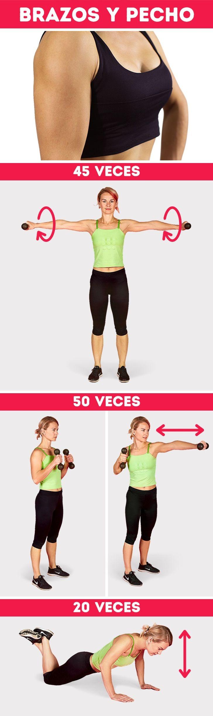 13 Ejercicios para entrenar todo el cuerpo y bajar de peso