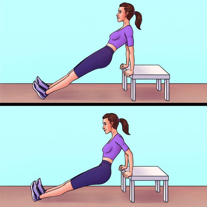 Te enseñamos cómo convertir 10 ejercicios de gimnasio en ejercicios para tu rutina en casa
