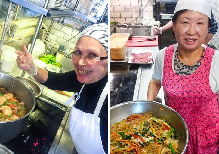 Abuelas chefs detodo elmundo comparten sus recetas familiares yhan abierto los corazones demuchos