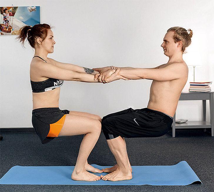 Yoga Challenge Posturas De Yoga Para Ninos En Pareja